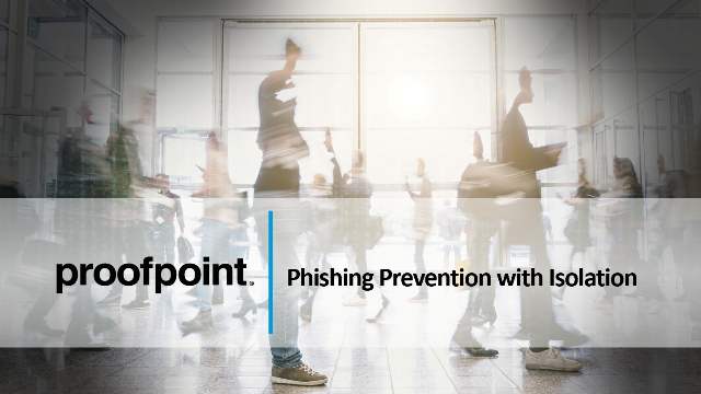 Phishing Prevention with Isolation