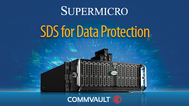 Software Defined Storage for Data Protection