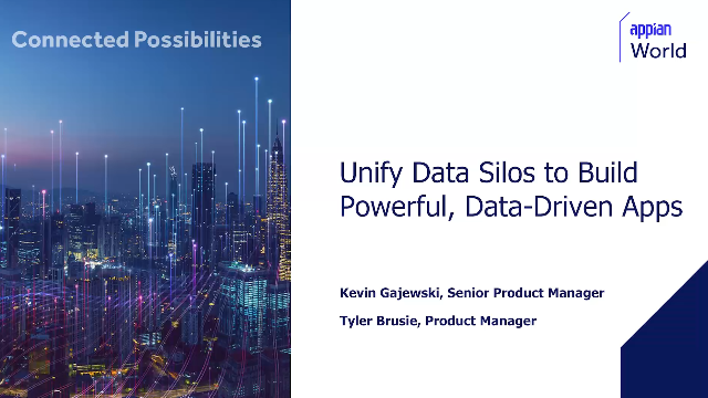 Unify Data Silos to Build Powerful, Data-Driven Apps