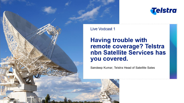 Power your remote network coverage with high speed Telstra nbn Satellite Service