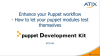 Enhance your Puppet workflow-how to let your puppet modules test themselves (DE)