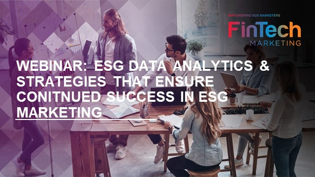 Collaboration - ESG data analytics & strategies to ensure continued success