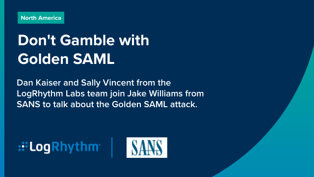 Don't Gamble with Golden SAML
