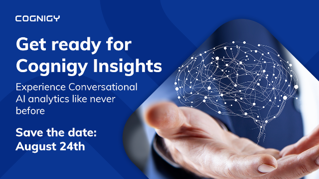 Cognigy Insights: Conversational AI Analytics Like Never Before