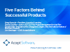 Five Factors Behind Successful Products
