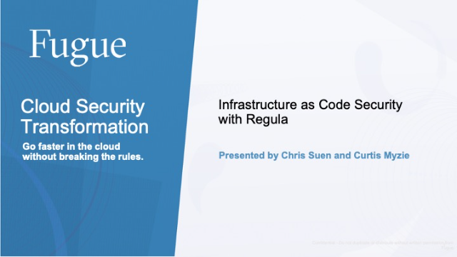 Infrastructure as Code Security with Regula