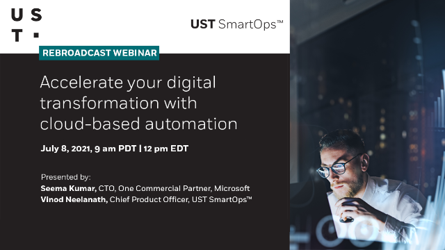 Accelerate your digital transformation with cloud based automation