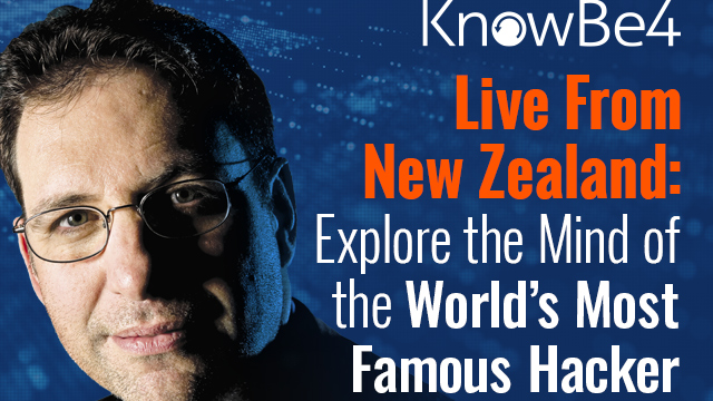 Live From New Zealand: Explore the Mind of Kevin Mitnick