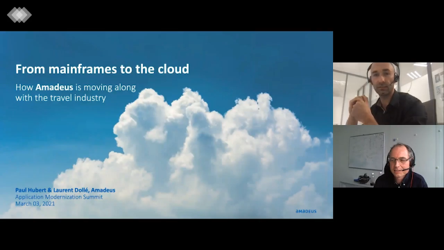 From Mainframes to the Cloud: Amadeus & the Travel Industry
