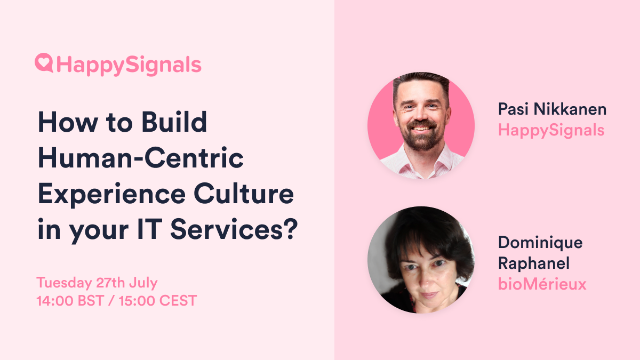 How to Deliver Human-centric IT Services?