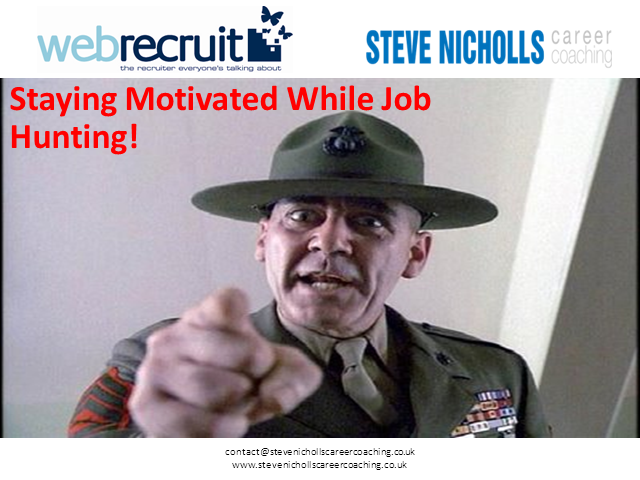 Staying Motivated While Job Hunting