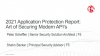 2021 Application Protection Report: Art of Securing Modern API's