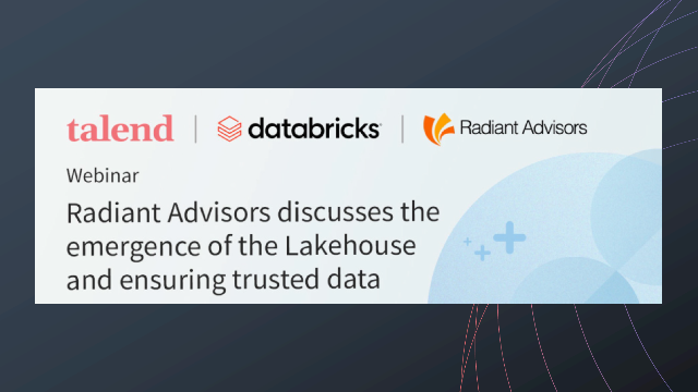 Discuss the emergence of the Lakehouse and ensuring trusted data