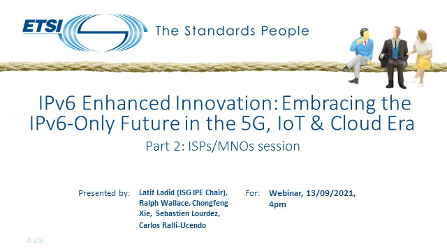 IPv6 Enhanced Innovation: the IPv6-Only Future in the 5G, IoT & Cloud Era, 2/2