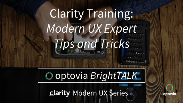 Clarity Modern UX: Expert Tips and Tricks