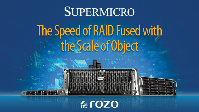 The Speed of RAID Fused with the Scale of Object