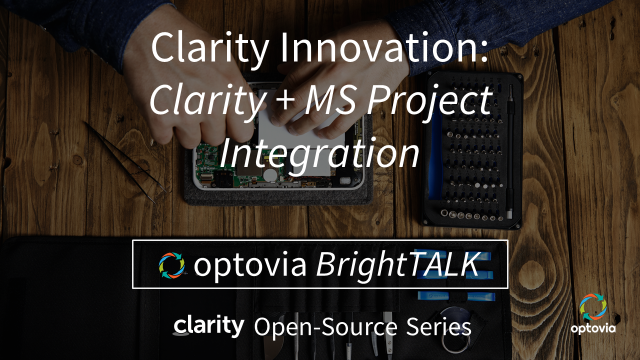 Clarity Innovation: MS Project Integration