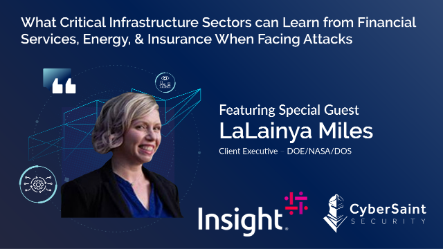What Critical Infrastructure can Learn from FinServ, Energy, & Insurance