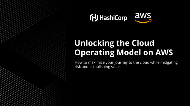 Unlocking the Cloud Operating Model on AWS
