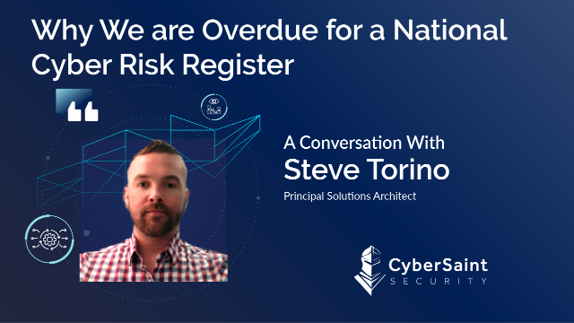 Why We are Overdue for a National Cyber Risk Register