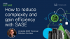 How to reduce complexity and gain efficiency with SASE