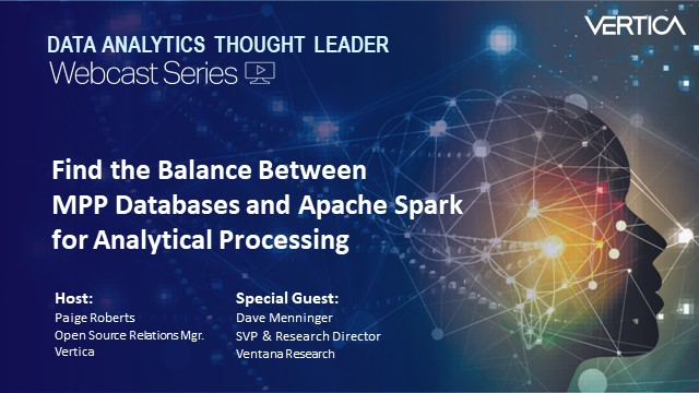 Find the Balance Between MPP Databases and Spark for Analytical Processing