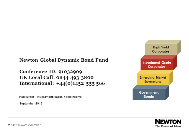 Newton Global Dynamic Bond Fund update