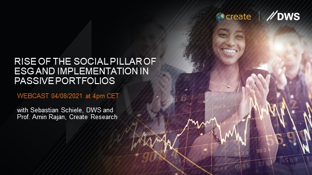 Rise of the social pillar of ESG and implementation in passive portfolios