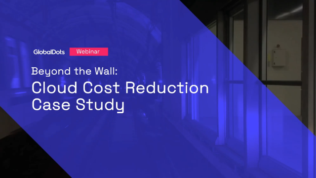 Beyond the Wall: Cloud Cost Reduction Case Study (Hebrew)