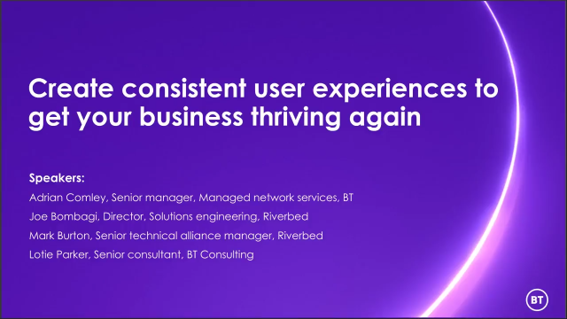 Create consistent user experiences to get your business thriving again
