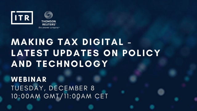 Making Tax Digital - Latest Updates on policy and technology