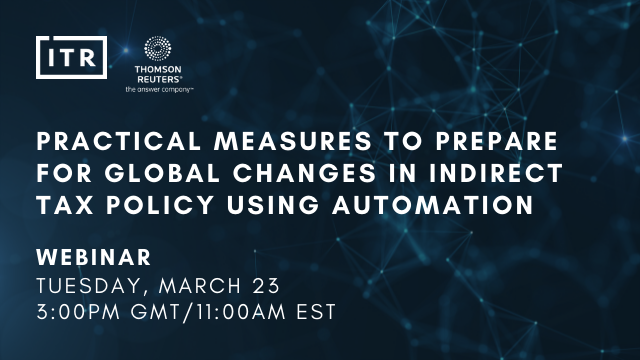 Practical measures to prepare for changes in indirect tax policy with automation