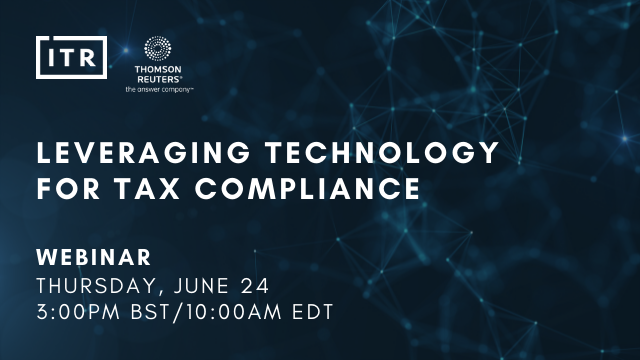 Leveraging technology for tax compliance