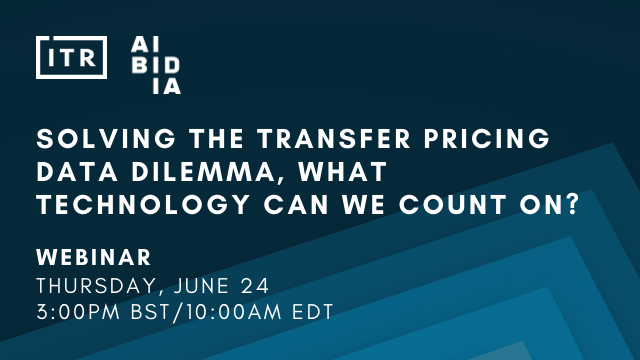 Solving the transfer pricing data dilemma, what technology can we count on?