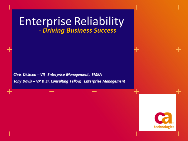 Ensuring Enterprise Reliability To Drive Business Success