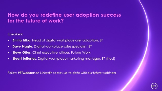 How do you redefine user adoption success for the future of work?
