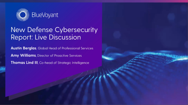 BlueVoyant Reveals Cybersecurity Weaknesses within Defense Industrial Base