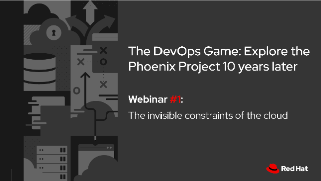 The DevOps Game #1: Invisible Constraints of the Cloud