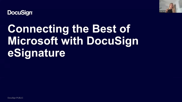 Connecting the Best of Microsoft with DocuSign eSignature
