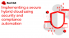 Implementing a secure hybrid cloud using security and compliance automation