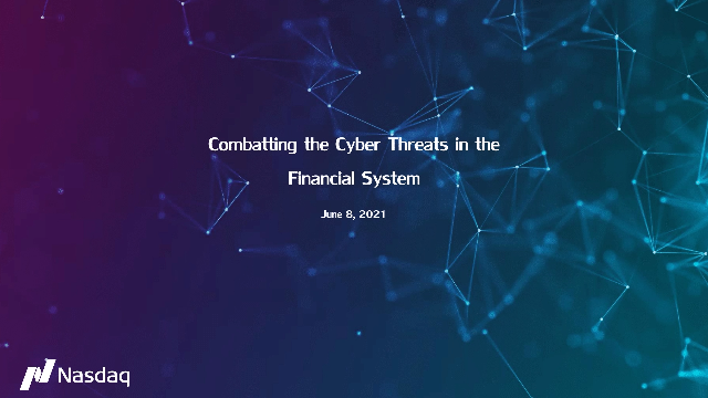 Combatting the Cyber Threats in the Financial System