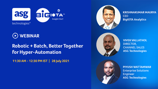 Robotic + Batch, Better Together for Hyper-Automation
