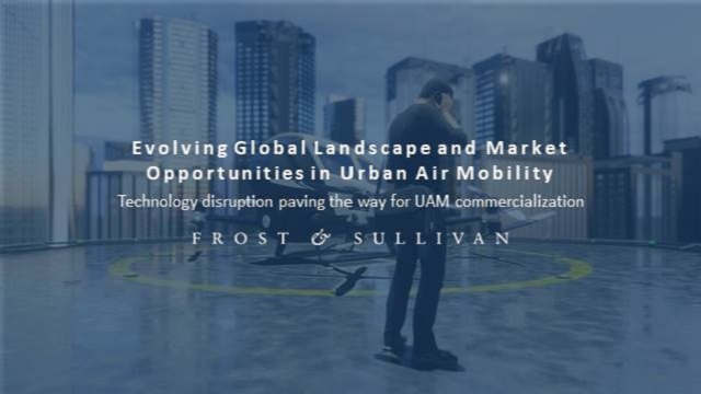 Evolving Global Landscape and Market Opportunities in Urban Air Mobility
