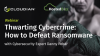 Thwarting Cybercrime: How to Defeat Ransomware