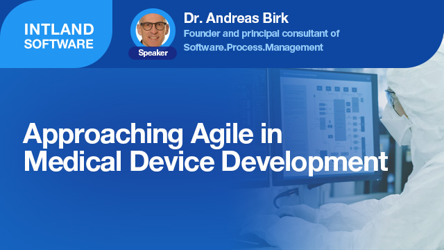 Approaching Agile in Medical Device Development