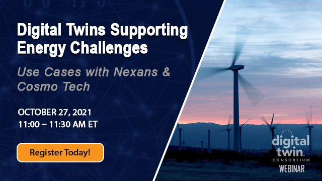 Digital Twins supporting energy challenges - Use cases with Nexans & Cosmo Tech.
