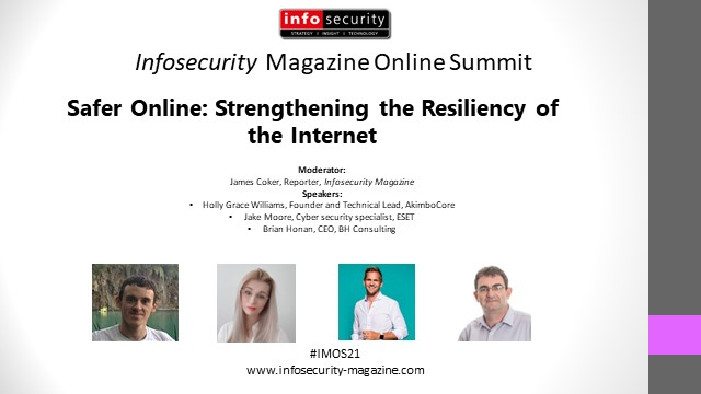 #IMOS21 Safer Online: Strengthening the Resiliency of the Internet
