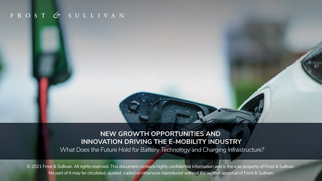 New Growth Opportunities and Innovation Driving the e-mobility Industry