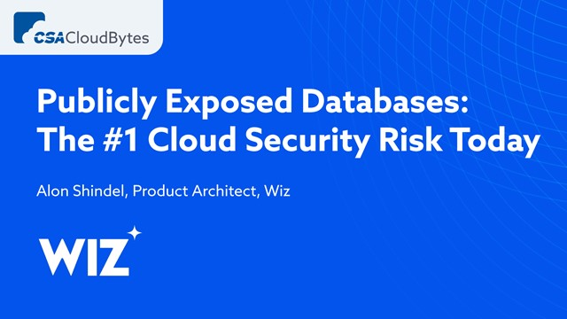 Publicly Exposed Databases: The #1 Cloud Security Risk Today