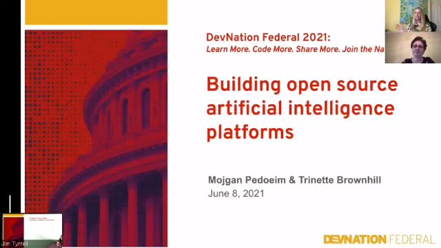 DevNation Federal 2021 - Lessons learned from building open source AI platforms